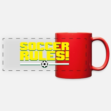 Soccer Ball Soccer rules soccer ball - Full Color Panoramic Mug