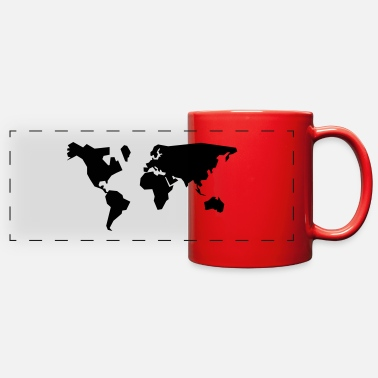 Geographic geographic - Full Color Panoramic Mug