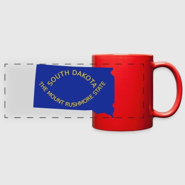 South Dakota - Full Color Panoramic Mug