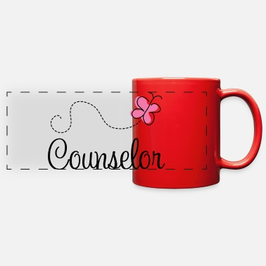 Health Counselor Occupation Gift - Full Color Panoramic Mug