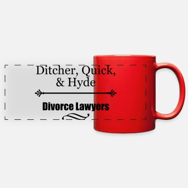 Divorce Lawyers - Full Color Panoramic Mug