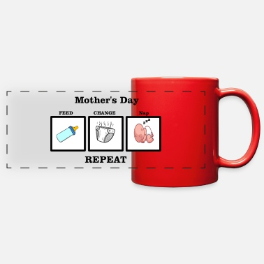 New Mother New Mother's Day - Full Color Panoramic Mug
