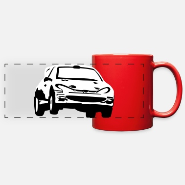 Race Car Rally car, racing car - Full Color Panoramic Mug