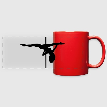Pole dance, pole dancing - Full Color Panoramic Mug