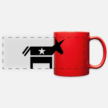 Democrat Democrat - Full Color Panoramic Mug