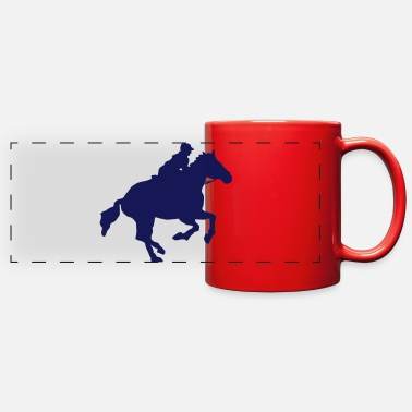 Gallop gallop - Full Color Panoramic Mug