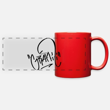 Graffiti Graffiti Graffiti - Full Color Panoramic Mug