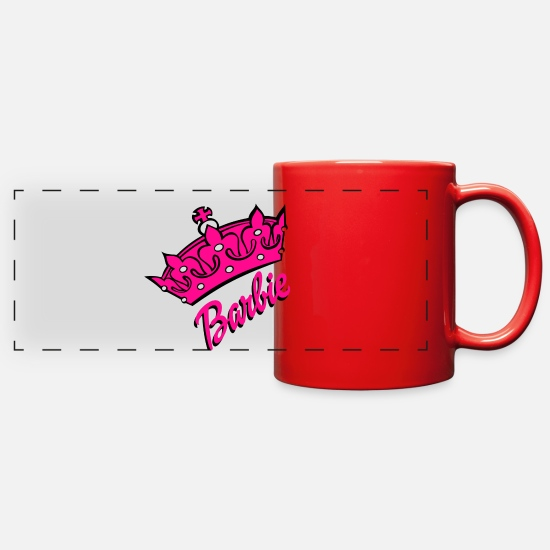 Barbie Mugs & Drinkware - barbie - Full Color Panoramic Mug red