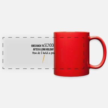 Goes Goes back to SCHOOL - Full Color Panoramic Mug