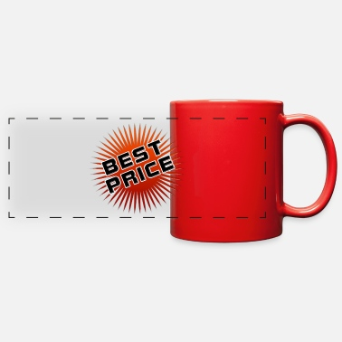 Price-to-pay price tag - Full Color Panoramic Mug