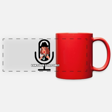 Anonymous i am super voice girls - Full Color Panoramic Mug