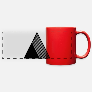 Pyramid pyramid - Full Color Panoramic Mug