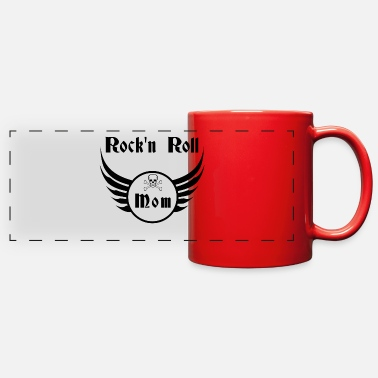 Rockeuse Rock and roll mom - Full Color Panoramic Mug
