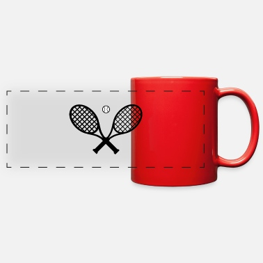 Tennis Racket Tennis Rackets - Full Color Panoramic Mug