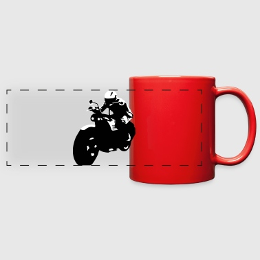 Motorcycle, Motorbike, Bike - Full Color Panoramic Mug