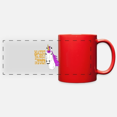 Maybe we dont believe in you - Full Color Panoramic Mug