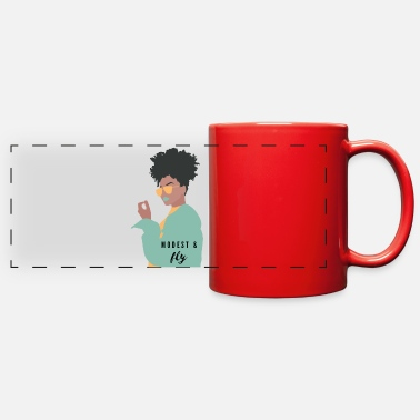 Modest and Fly - Full Color Panoramic Mug