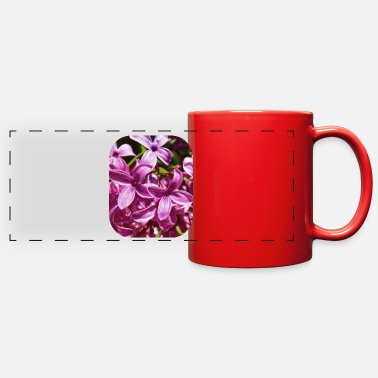Lilac Lilac Closeup - Full Color Panoramic Mug