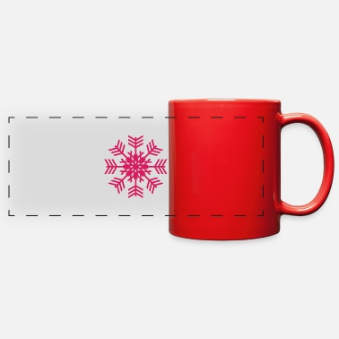 Snowflake Snowflake - Full Color Panoramic Mug