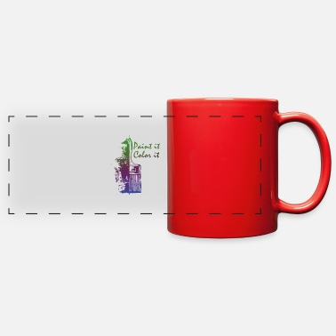 Painting Paint it - Full Color Panoramic Mug