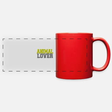 Animal Lover Animal lover - Full Color Panoramic Mug