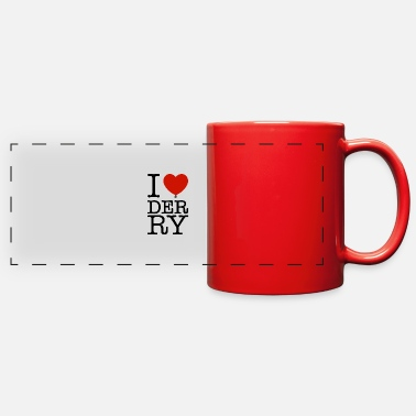 I Love Derry - Full Color Panoramic Mug