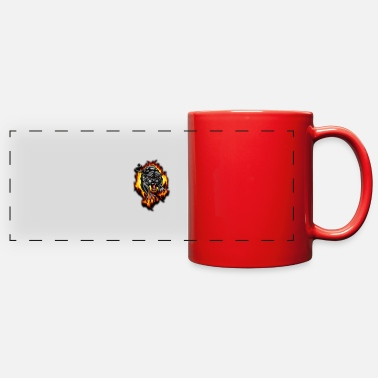 Fire Panther - Full Color Panoramic Mug