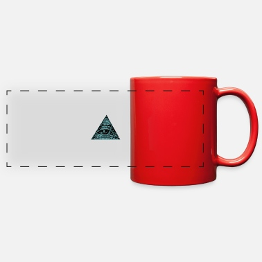 Eye Monitoring EYE ILLUMINATI - Full Color Panoramic Mug