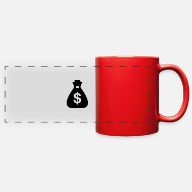 Greenback money bag - Full Color Panoramic Mug