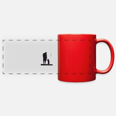 Father Father and Son - Full Color Panoramic Mug