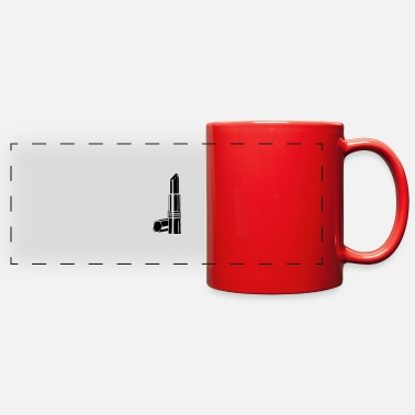 Lipstick lipstick - Full Color Panoramic Mug