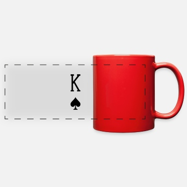King King of Spades - Full Color Panoramic Mug