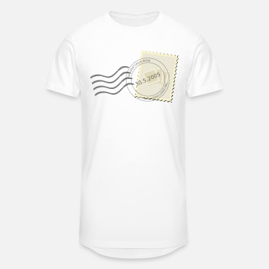 Stamp postage stamp - Unisex Oversize T-Shirt