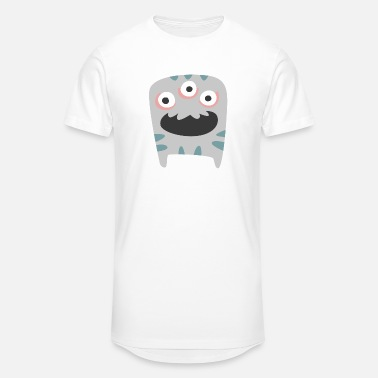 Horror Spooky Monster - Unisex Oversize T-Shirt