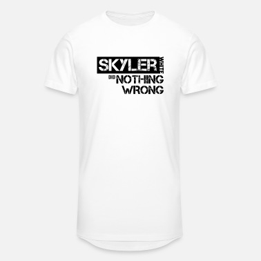 Skyler Breaking Bad: Skyler White did Nothing Wrong - Unisex Oversize T-Shirt