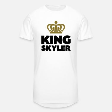 Skyler King skyler name thing crown - Unisex Oversize T-Shirt