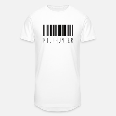 Hunter MILFHUNTER BARCODE BLACK - Unisex Oversize T-Shirt