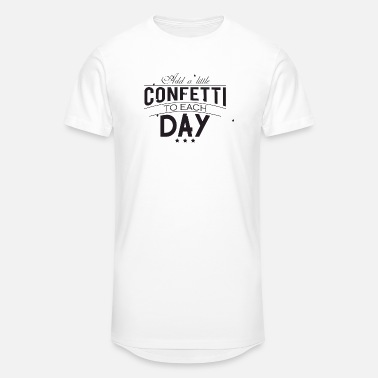 Dawoud Confetti - Add a little confetti to each day - Unisex Oversize T-Shirt