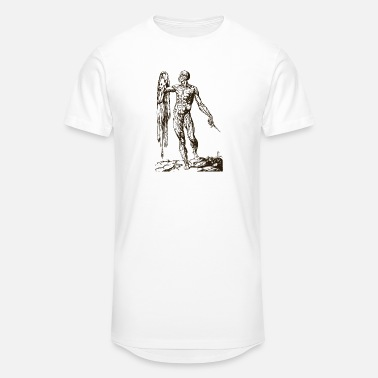 Michelangelo The Creation of Man - Unisex Oversize T-Shirt
