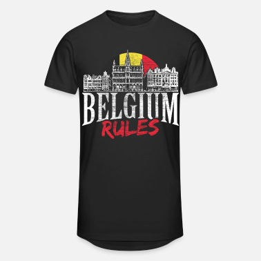 Federal State Belgium kingdom gift idea - Unisex Oversize T-Shirt