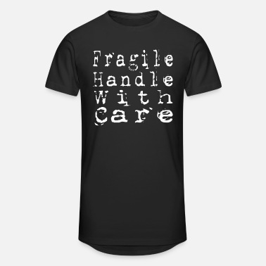 Fragile Handle With Care Fragile Handle With Care - Unisex Oversize T-Shirt