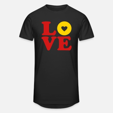 Vector Most Loved Fast Food Design Cakes Breads ♥ټLove BananaVector choc Doughnut-Heavenly Donutټ♥ - Unisex Oversize T-Shirt