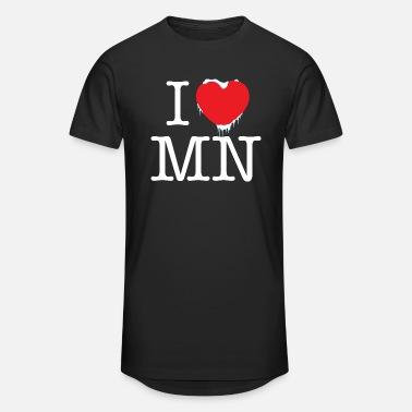 Minnesota Gift Minnesota T-shirt I Love Minnesota Minnesota Girl at Heart