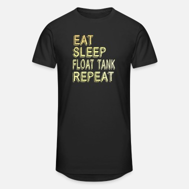Float Tank Eat Sleep Float Tank Repeat for Isolation Tank Fan - Unisex Oversize T-Shirt