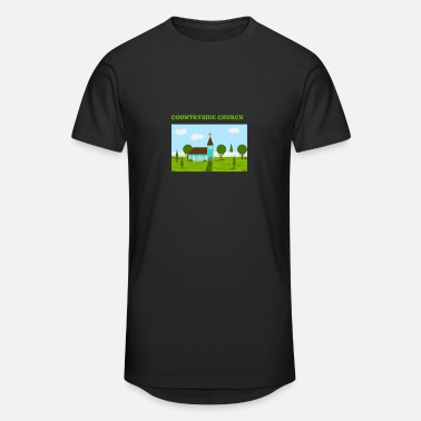 Countryside Countryside Church - Unisex Oversize T-Shirt