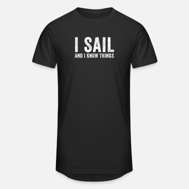 Halloween I Sail And I Know Things - Unisex Oversize T-Shirt
