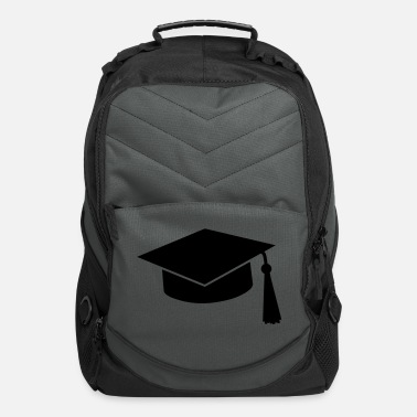 College graduation hat - Computer Backpack