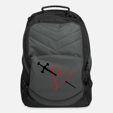 Serce heart - Computer Backpack