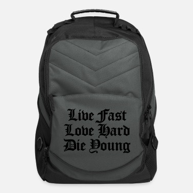 Fun live fast love hard - Computer Backpack