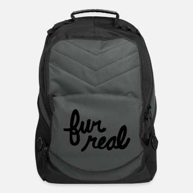 Fur fur real - Computer Backpack
